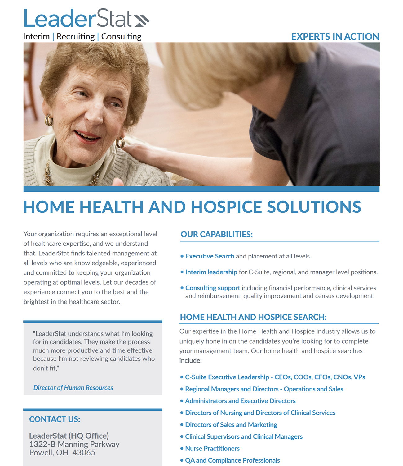 home health and hospice