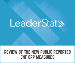 Review of the New Public Reported SNF QRP Measures